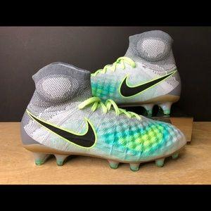 Nike Magista Obra II FG Soccer Cleats Platinum